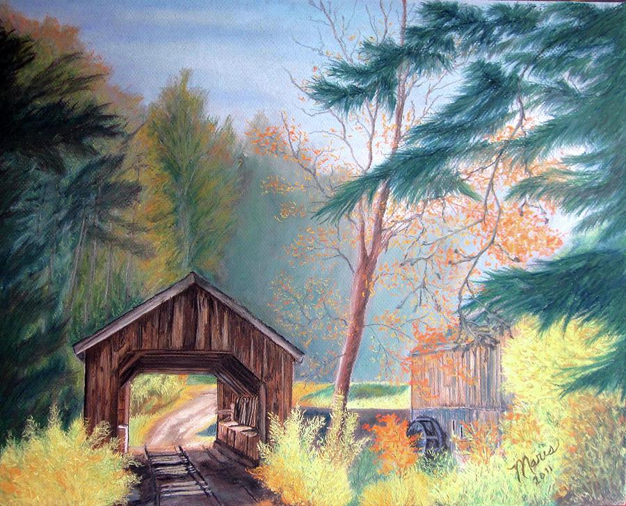 Fall Pastel - Hints Of Fall by Maris Sherwood