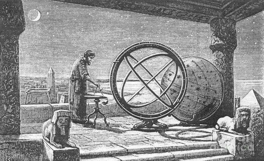 hipparchus greek astronomer photograph by science source