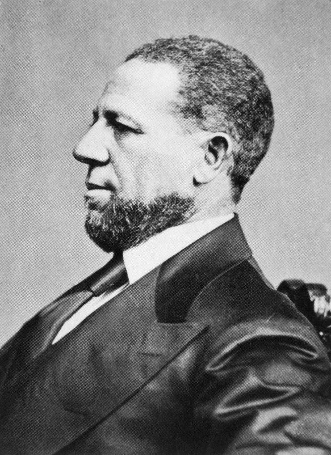 Hiram Rhodes Revels 1827 1901 First Photograph By Everett