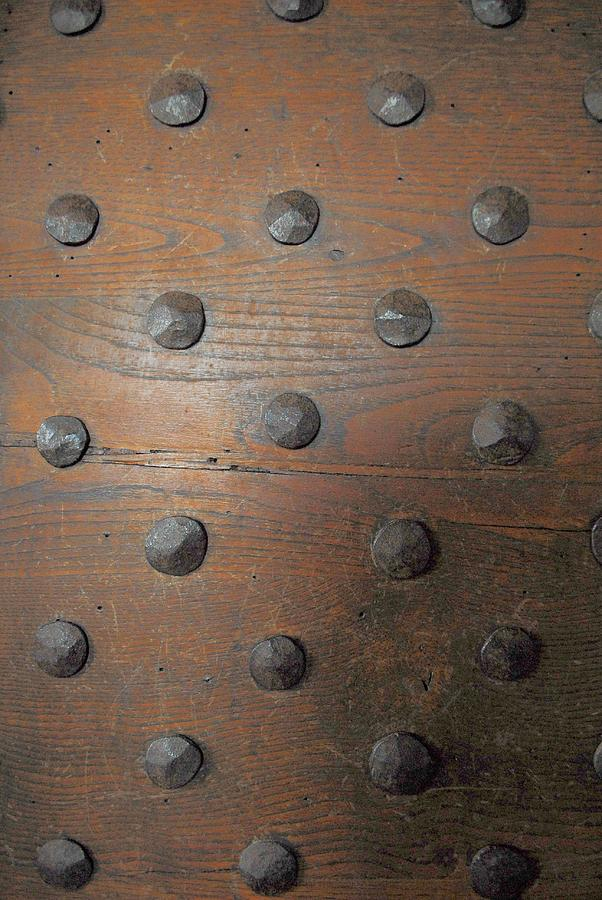 Door Photograph - Historic Armor by