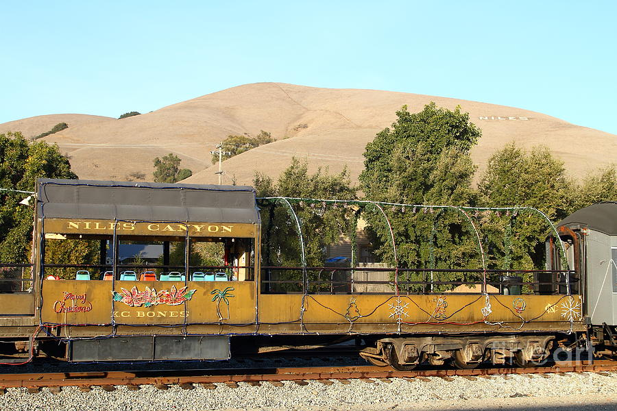 Historic Niles Trains In California Old Niles Canyon