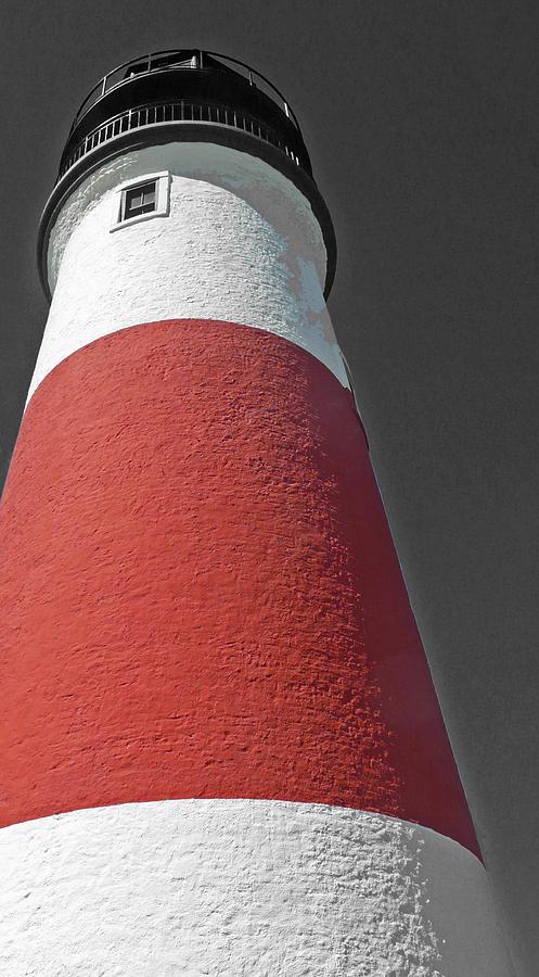 Becky Photograph - Historical Sankaty Head Lighthouse by Becky Lodes