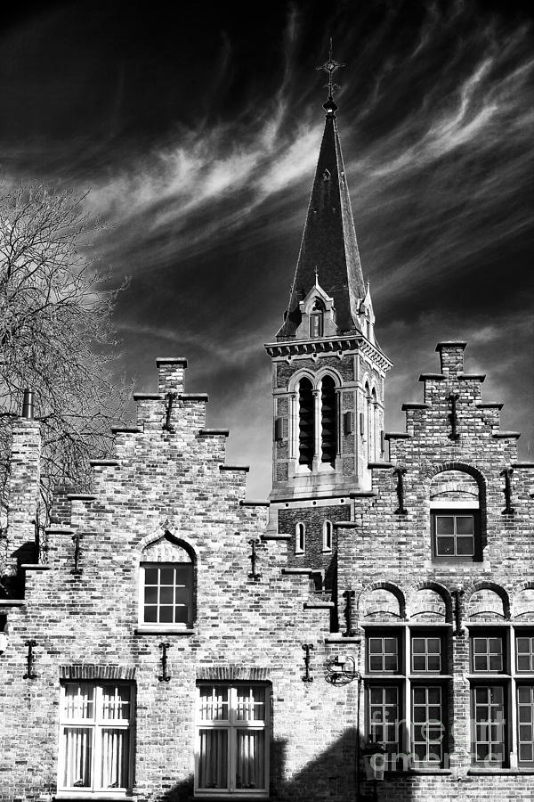 History Photograph - History In Bruges by John Rizzuto
