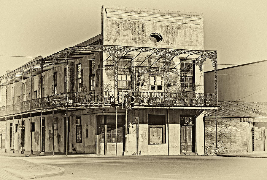 New Orleans Photograph - History Lesson Sepia by Steve Harrington