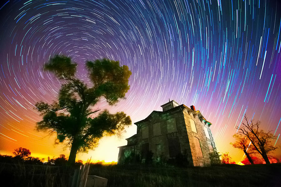 Star Photograph - History Of The Universe by Evan Ludes