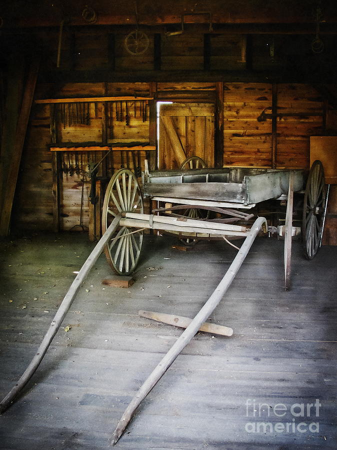Wagon Photograph - Hitch Your Wagon by Colleen Kammerer