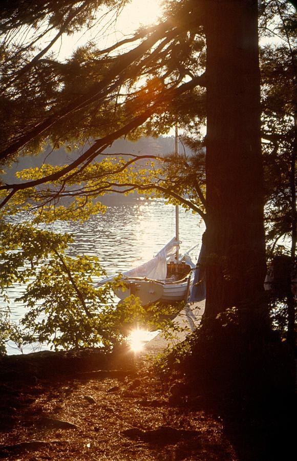 Sailboat Photograph - H M S Precious by Lin Grosvenor