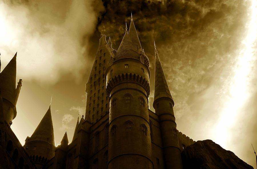 Fine Art Photography Photograph - Hogwarts Castle by David Lee Thompson