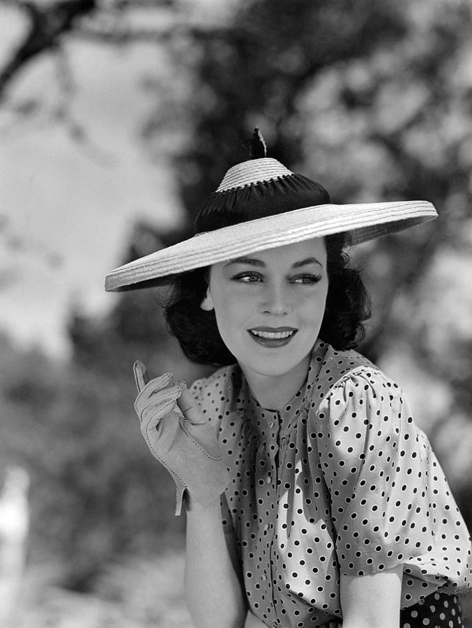 1930s Movies Photograph - Hold That Kiss, Maureen Osullivan, 1938 by Everett
