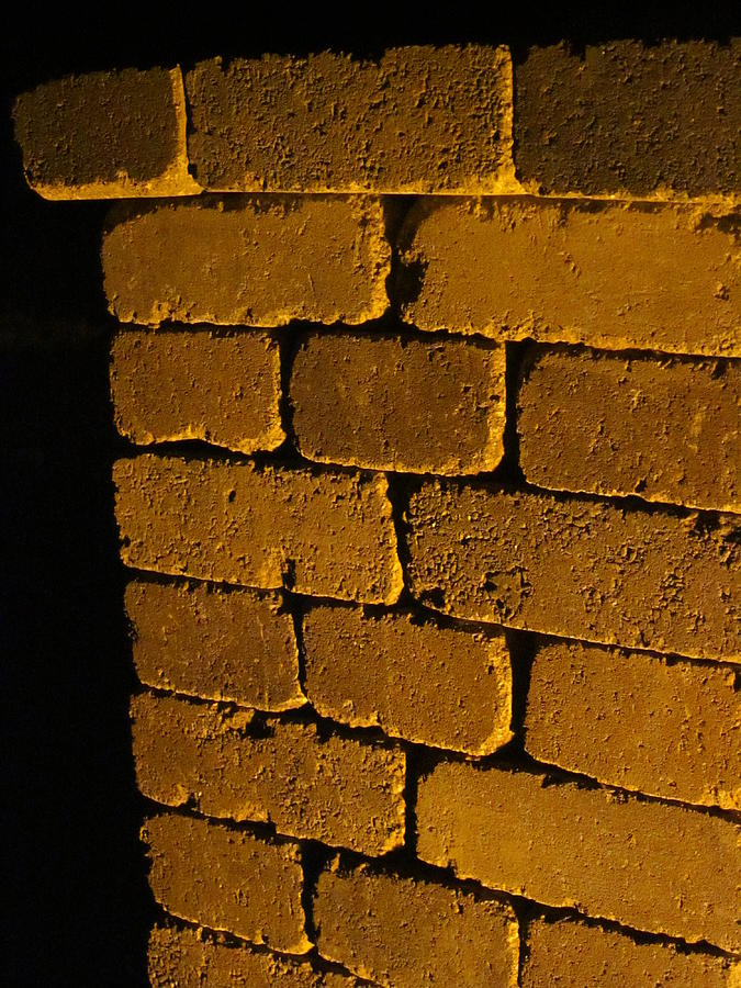 Bricks Photograph - Holding It All Together by Guy Ricketts