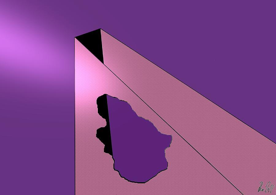 Hole Digital Art - Hole In Wall by Helmut Rottler