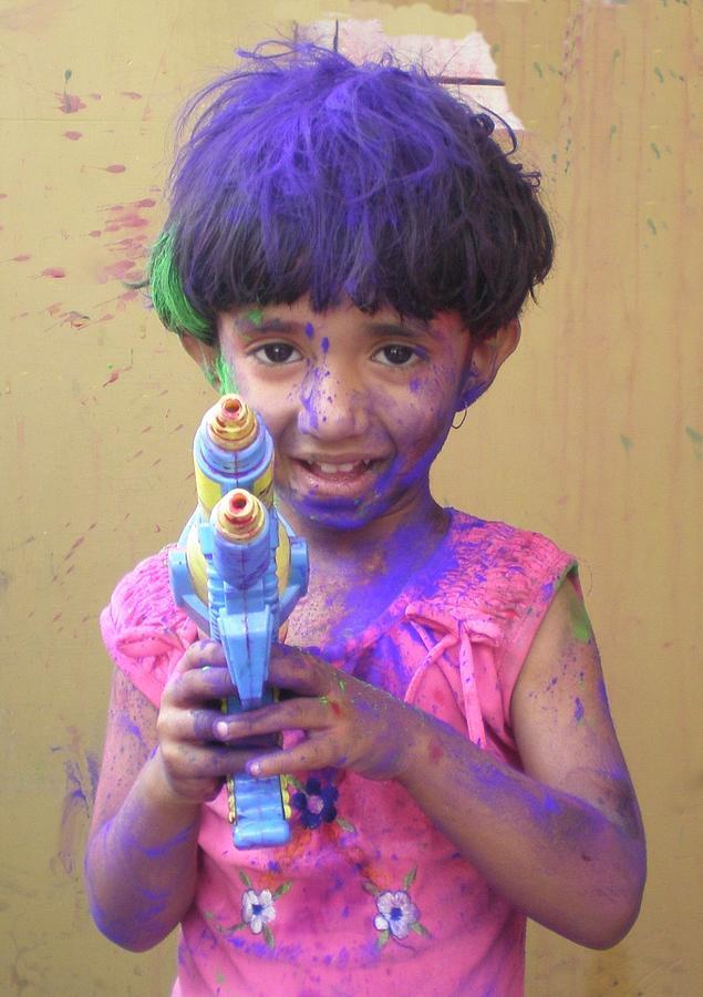 Photograph - Holi - The Festival Of Color by Rupak Sengupta