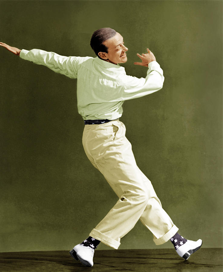 1940s Movies Photograph - Holiday Inn, Fred Astaire, 1942 by Everett