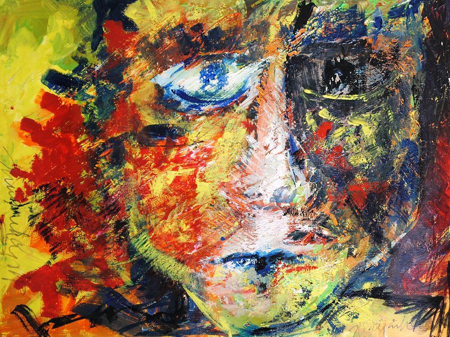 Bright Painting - Holigan by Mayank Gupta