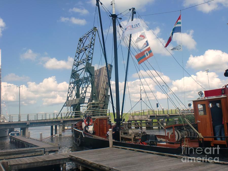 Boat Photograph - Holland by Anastasis  Anastasi