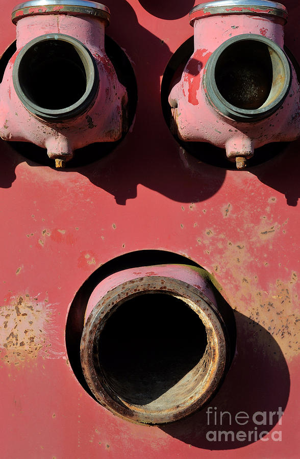 Rust Photograph - Hollow Face by Luke Moore