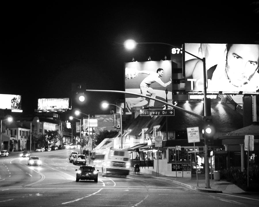 Hollywood In Black And White Photograph By Elizabeth