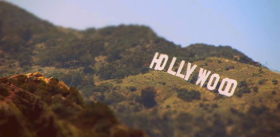 Hollywood Photograph - Hollywood Living by Brad Scott