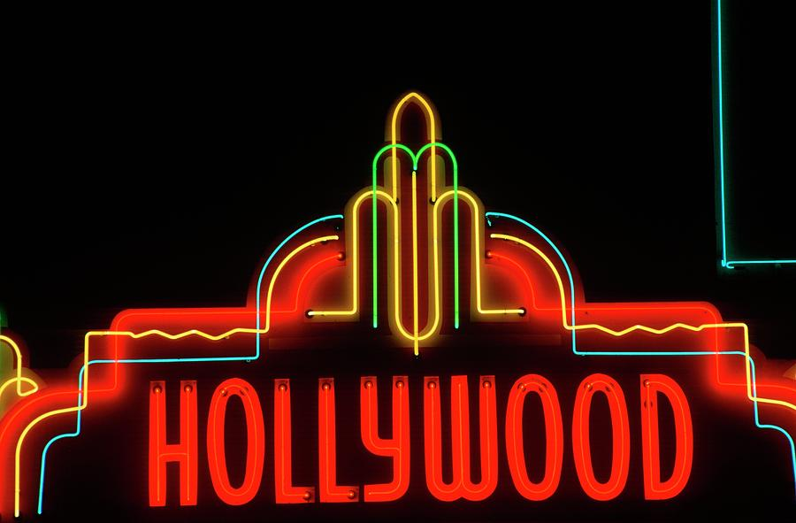 558c0db55dc Neon Signs Los Angeles Stunning Hollywood Neon Sign Los Angeles California   Photograph By