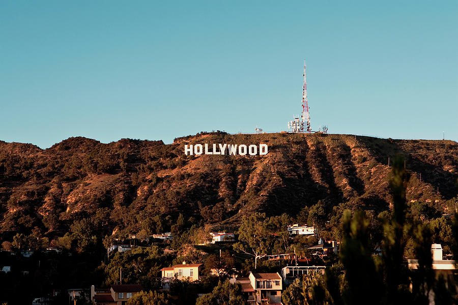 Hollywood Sign At Sunset Photograph by Lorraine Devon Wilke  Hollywood Sign ...