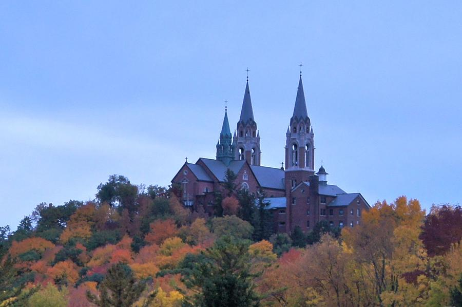 Church Photograph - Holy Hill by Kristine Bogdanovich