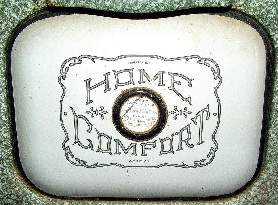 Antiques Photograph - Home Comfort by Judy Garrett