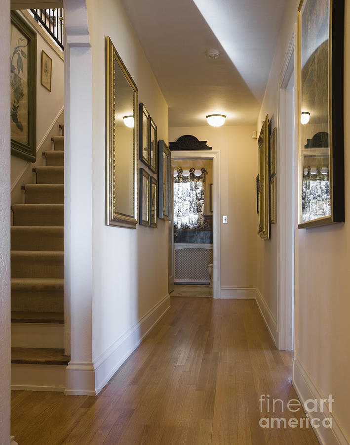 Home Hallway Photograph By Andersen Ross