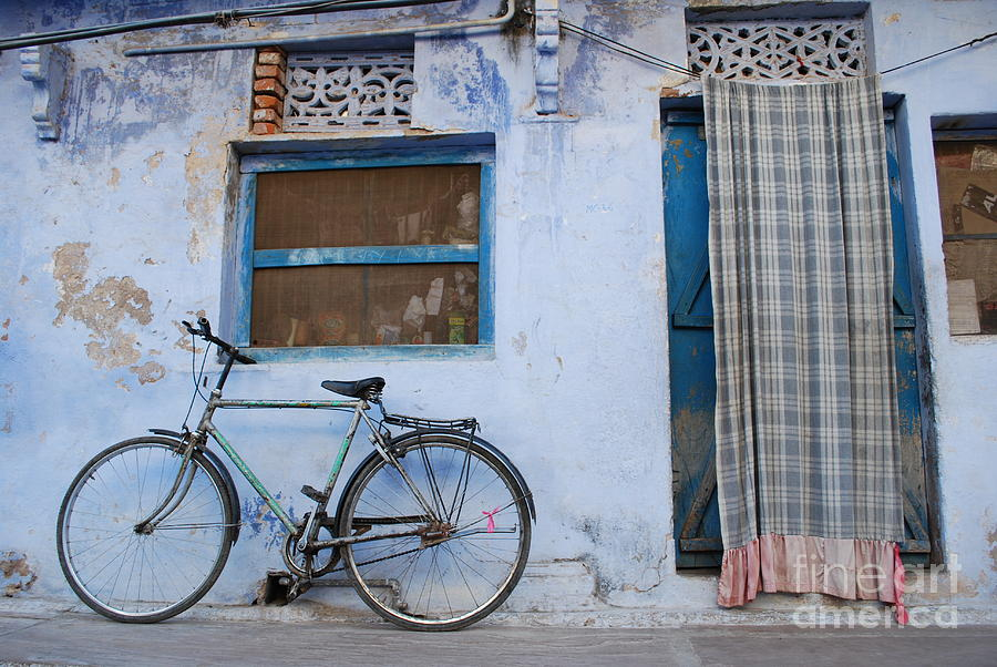 India Photograph - Home by Jen Bodendorfer