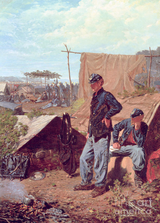 Home Painting - Home Sweet Home by Winslow Homer