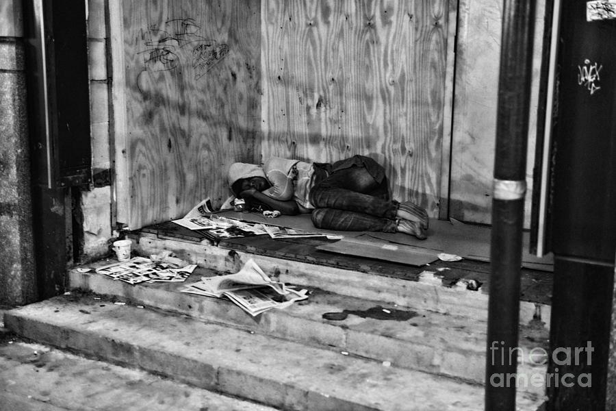 Homeless Photograph - Homeless by Paul Ward