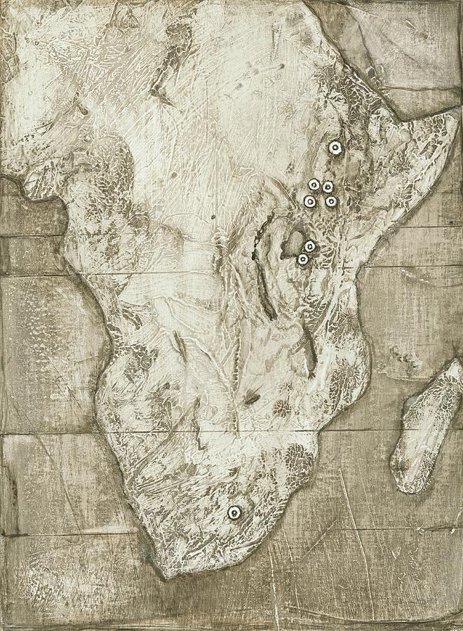 Africa Photograph - Hominid Fossil Sites In Africa by Kennis And Kennismsf