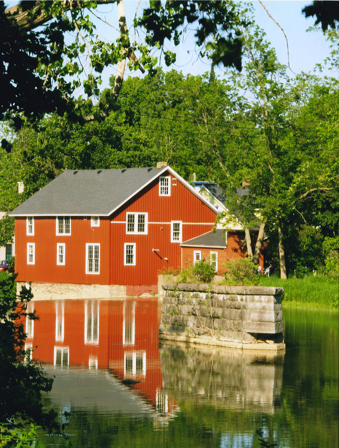 Mill Photograph - Honeoye Falls Mill One by Joshua House