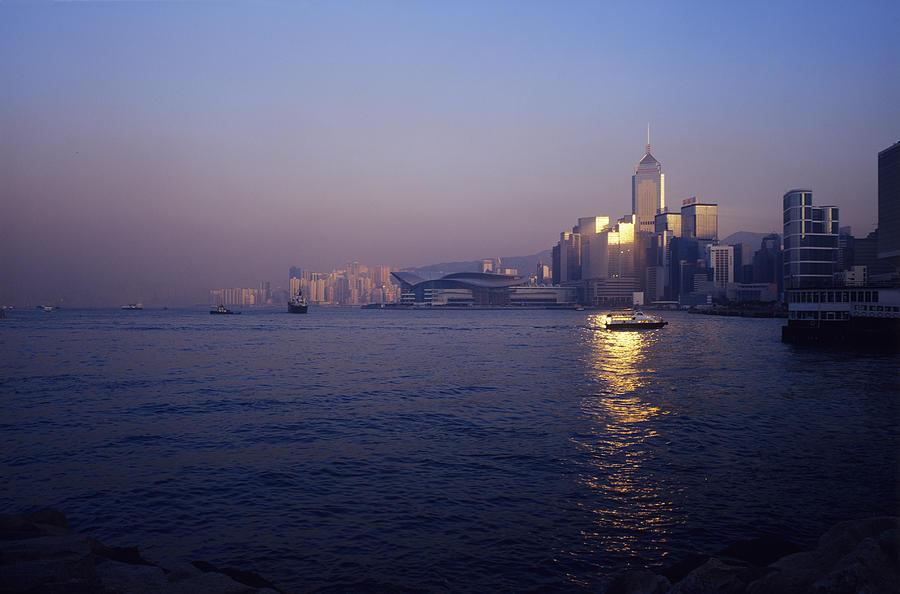 Hong Kong Photograph - Hong Kong Harbour by Carlos Dominguez