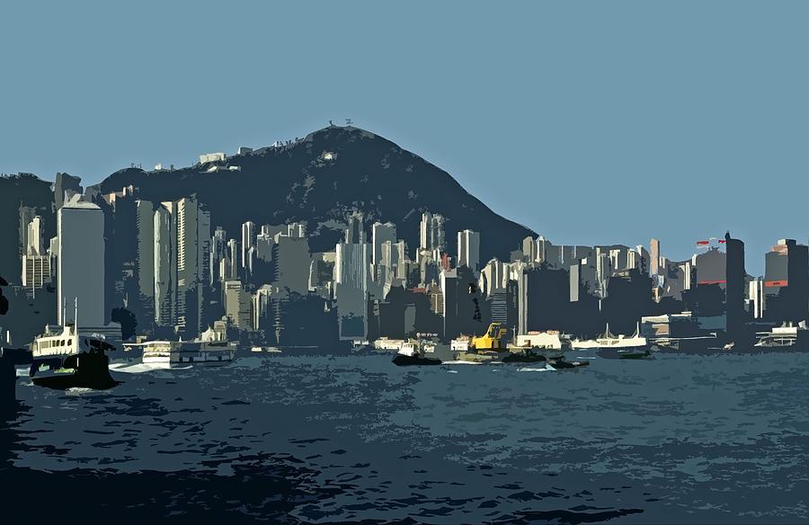 Hong Kong Island ... by Juergen Weiss