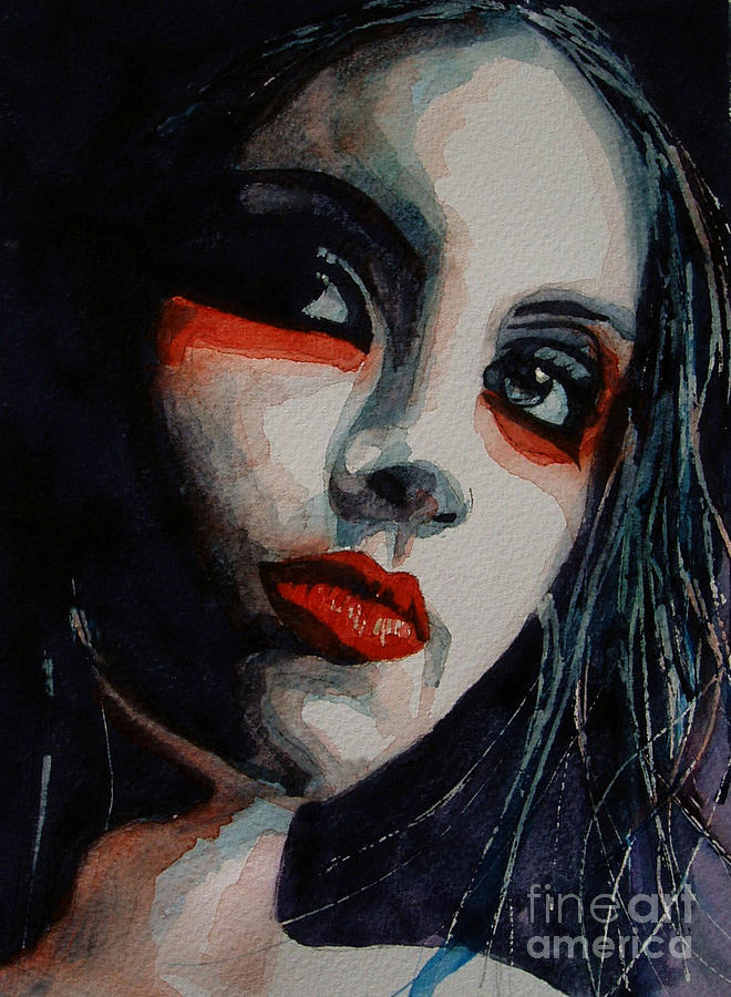 Women  Painting - Honky Tonk Woman by Paul Lovering