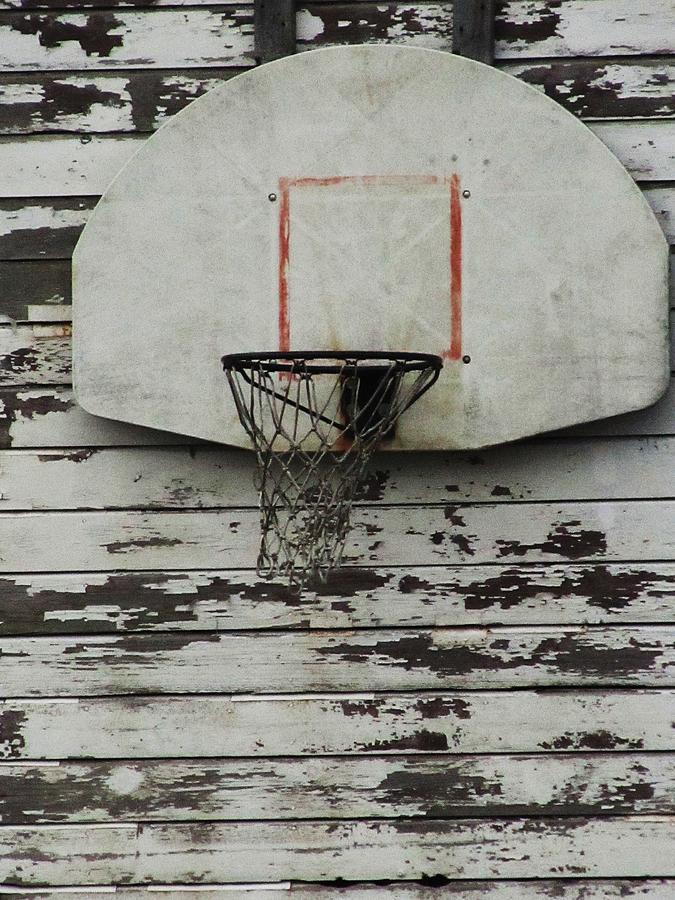 Basketball Backboard Photograph - Hoops by Todd Sherlock
