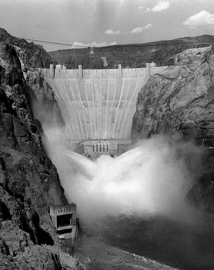 Hoover Dam 1939 Photograph By Everett