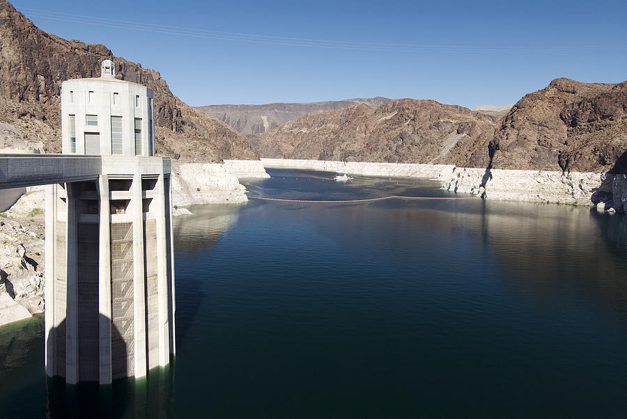 Afternoon Photograph - Hoover Dam by Gloria & Richard Maschmeyer