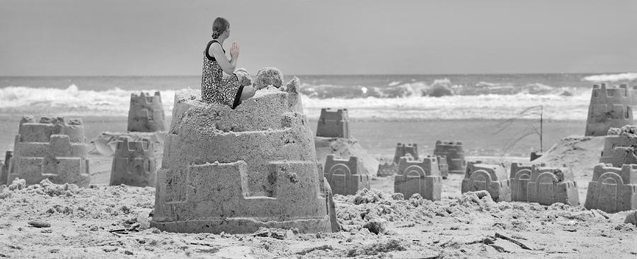 Sandcastle Photograph - Hope by Betsy Knapp