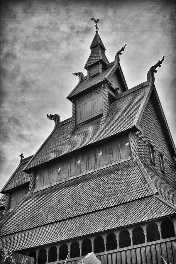 Europe Photograph - Hopperstad Stave Church by A A