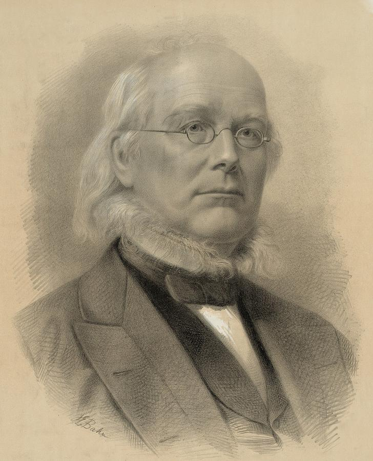 Historical Photograph - Horace Greeley 1811-1872, Ca. 1872 by Everett