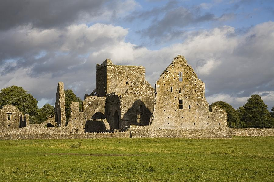 Architectural Photograph - Hore Abbey, Cashel, County Tipperary by Richard Cummins