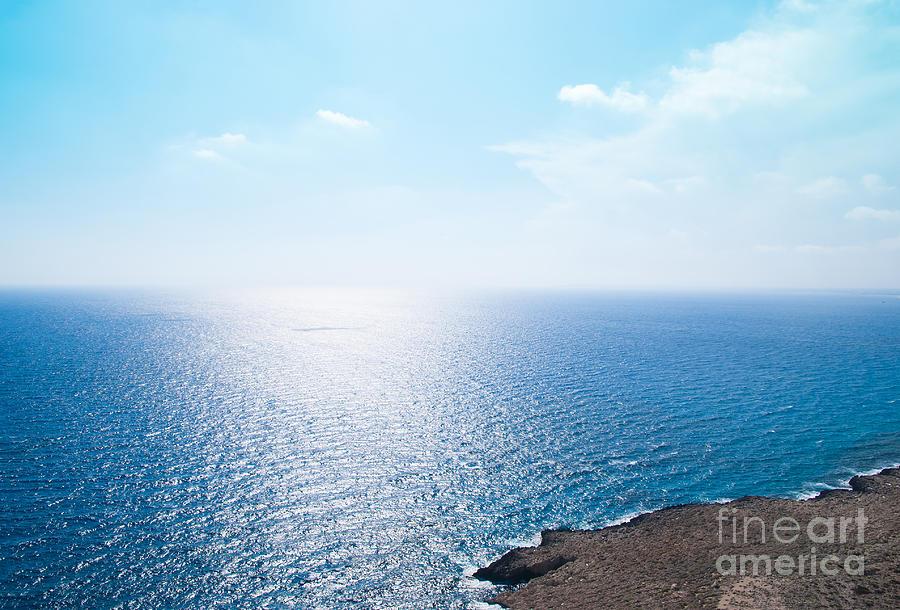 Blue Photograph - Horizon by Boris Suntsov