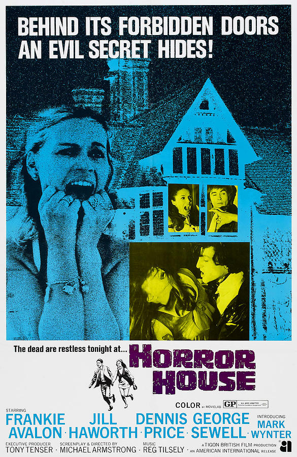 1969 Movies Photograph - Horror House, Aka The Haunted House Of by Everett