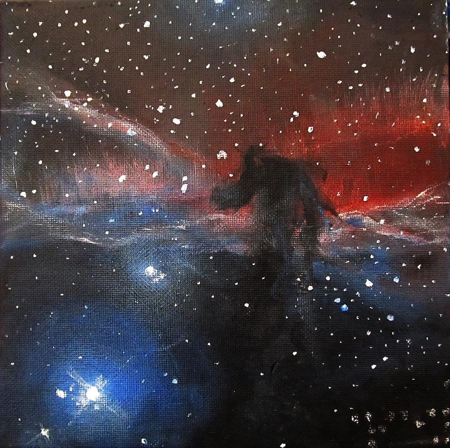 Horsehead Nebula II Painting by Alizey Khan