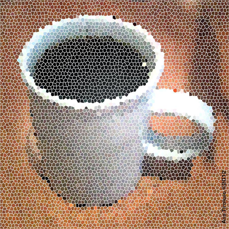 Hot Digital Art - Hot Coffee 03 by Ana Tirolese