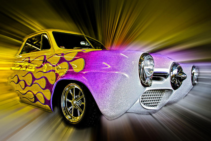 Vehicle Photograph - Hot Rod Art by Steve McKinzie