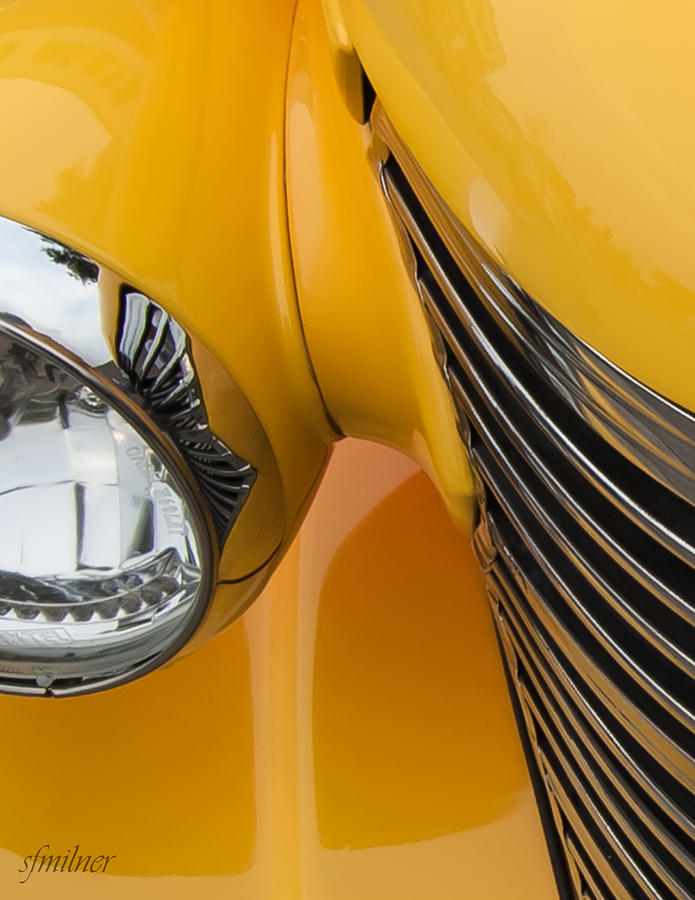 Abstracts Photograph - Hot Rod Chevy by Steven Milner