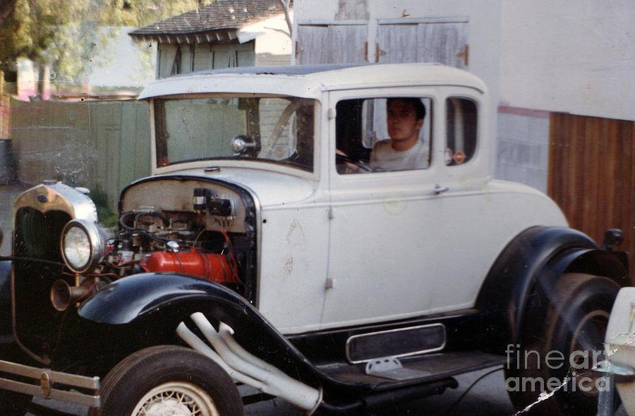 Car Photograph - Hot Rod by Nancy Greenland