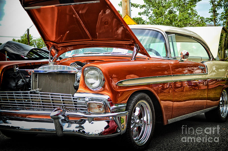 Vintage Framed Prints Photograph - Hot Rod by Tamera James